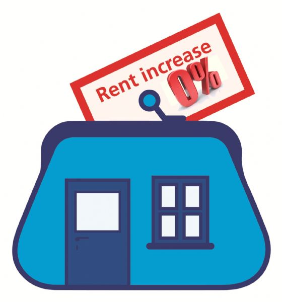 0% rent increase for second year!
