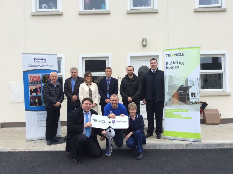 Moving day for new tenants in Coleraine