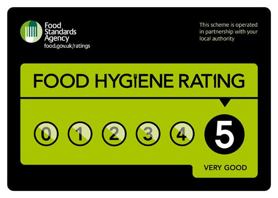Alternative Angles five-star food hygiene rating