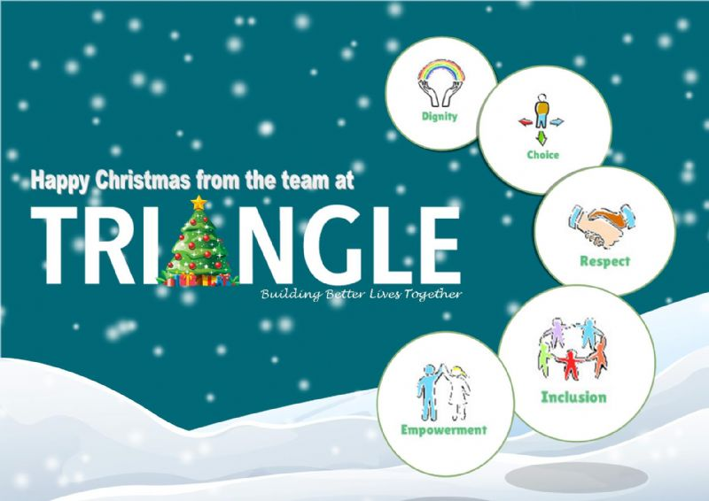 happy christmas from triangle housing 2016