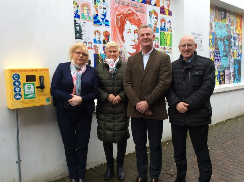 Triangle helps to saves lives in Ballymoney