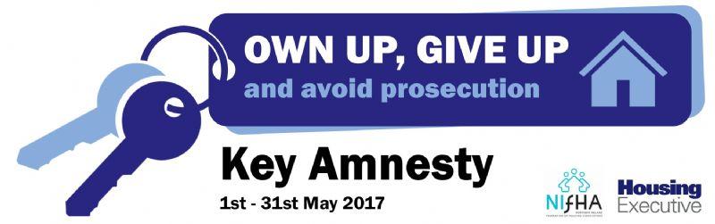 Key Amnesty (1st-31st May 2017)