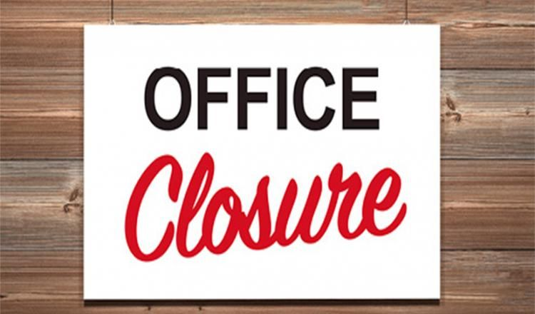 Office closure Mar 19